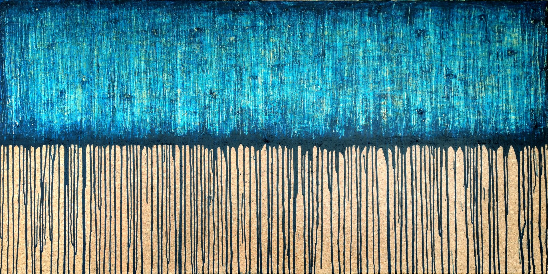 Carla Sá Fernandes - Blue No. 2 (On Cork)