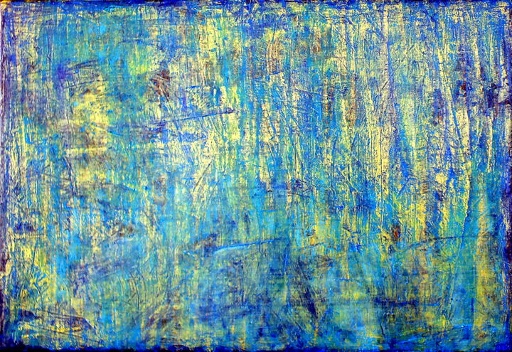 Carla Sá Fernandes - Blue Gold No.1 (CS16003)